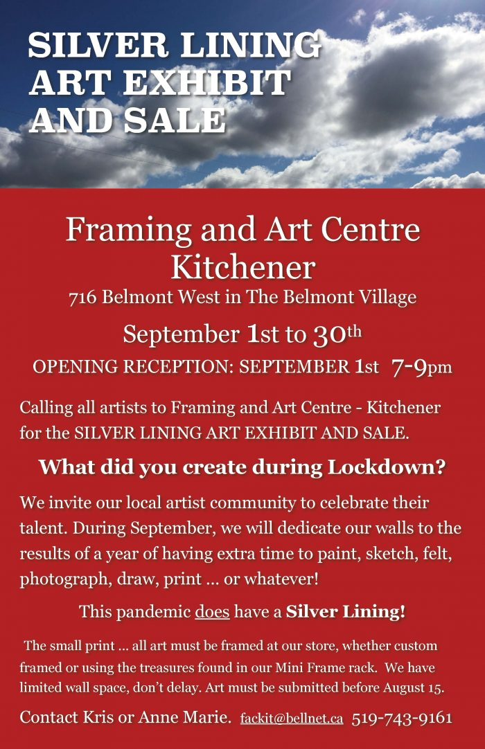 Silver Lining Art Exhibit And Sale high res
